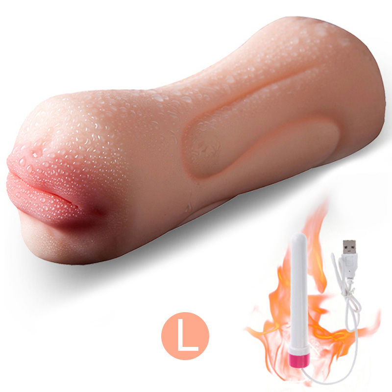 Large & Small Male Masturbator Anal Plug Sex Toys For Men Oral Artificial Vagina Adult Sex Products For Man Penis Vibrating Ring