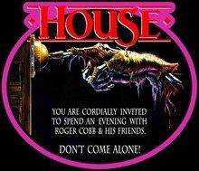80 ужасов, классический дом, Постер, искусство, индивидуальная футболка любого размера, любой цвет