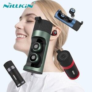Image 1 - NILLKIN 무선 미니 이어 버드 블루투스 5.0 무선 이어폰 마이크 미니 CVC 소음 감소 IPX5 방수 스포츠 헤드셋