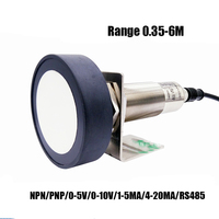 M75 200KHZ 0.35 6M Ultrasonic Distance sensor Analog sensor 0 5V/0 10V/4 20MA/RS485 Motion detector proximity switch sensor