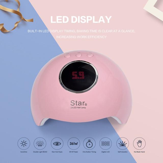 Complete Poly Gel Set With 36W UV Lamp For Nail 8ml Gel Polish Set Extension Builder Gel Kit Tools Polygel Nail Kit Manicure Set 3