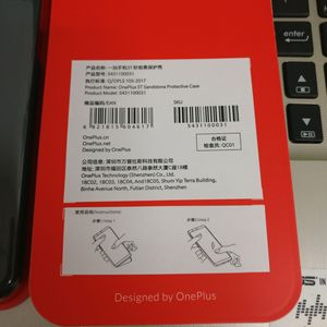 Image 4 - Original Official For OnePlus 5T Genuine Sandstone Karbon Matte Slim Back Skin Hard Case Cover