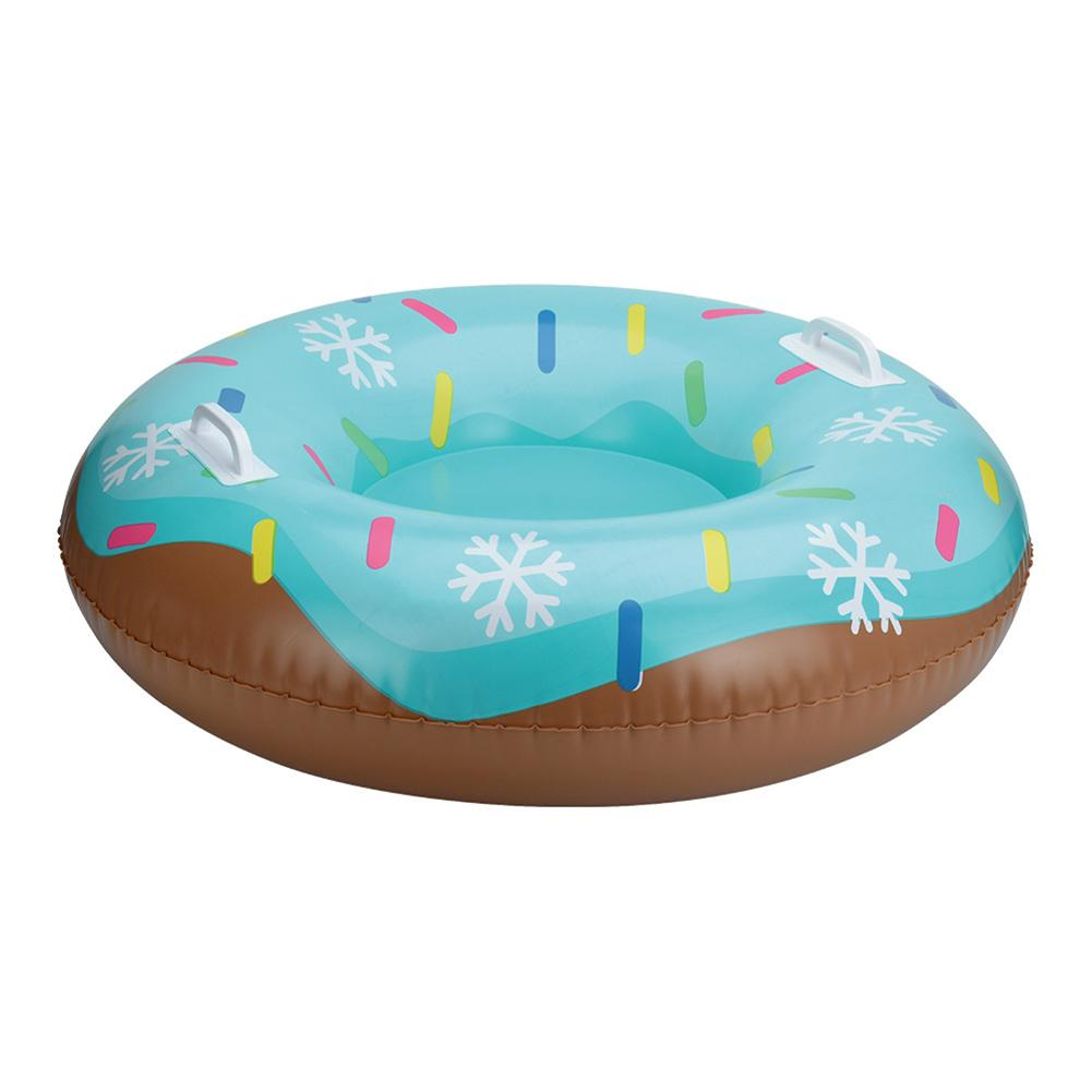 Skiing Pad Board Inflatable Durable Tire Snowboard Sleds For Kids Children Adult