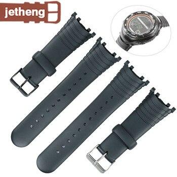 Аксессуары для часов резиновый мужской ремешок подходит для suunto серии векторных часов