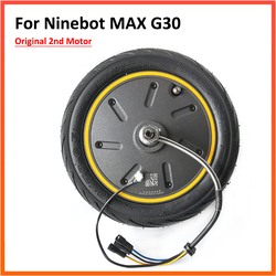 Оригинальный двигатель 2-го 350 Вт для двигателя Ninebot MAX G30 G30D, Электрический скутер, ступица колеса, комплект двигателя в сборе, запасные части