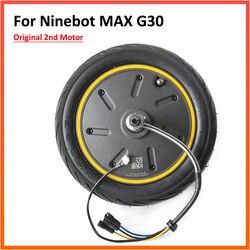 Moteur moteur d'origine 2nd 350W pour Ninebot MAX G30 G30D KickScooter Scooter électrique moyeu de roue Kit d'assemblage de pièces de rechange