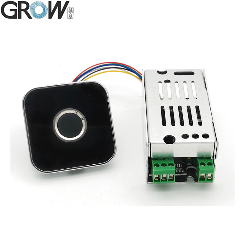 GROW K215-V1.2+R502-AW Fingerprint Access Control Board For Car Motorcycle Access Control
