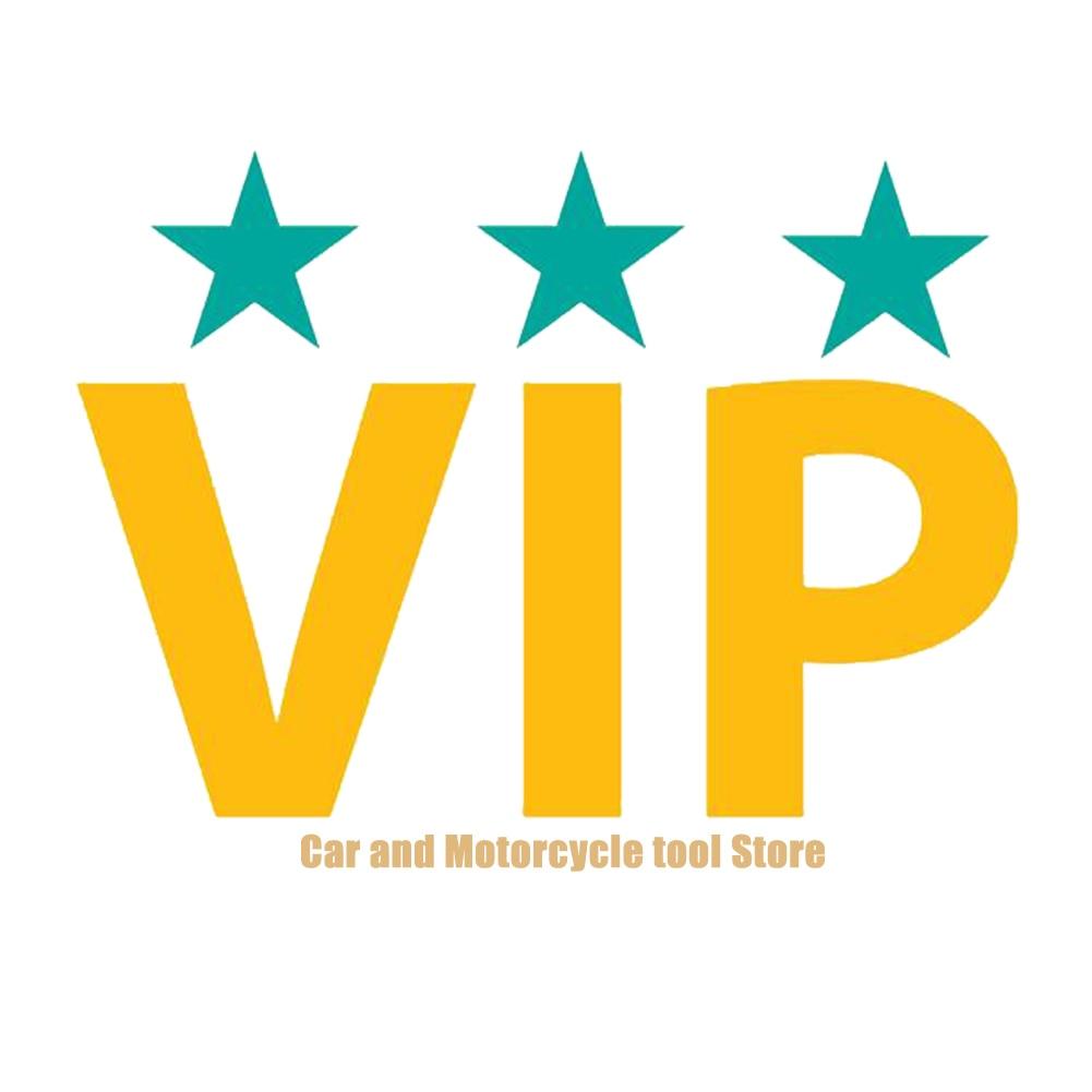 VIP LINK  4PCS Blank Wheel Caps