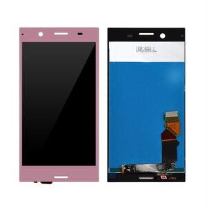 Image 3 - Lcd dorigine pour Sony pour Xperia XZ Premium LCD écran tactile numériser assemblage de panneau de verre avec cadre livraison gratuite