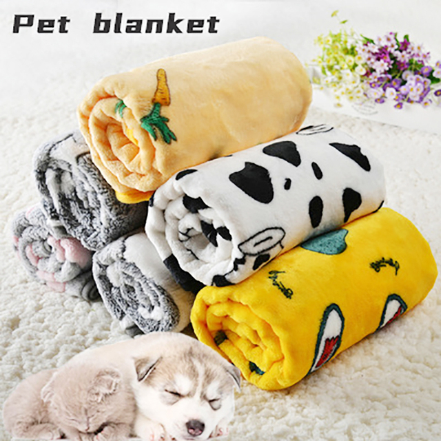 2021 Cat Bed Dog Blanket Pet Mat Dogs Supplies Dogs Mat Dogs Accessories Winter Warm Cats and Dogs General Blanket Pets Supplies 2