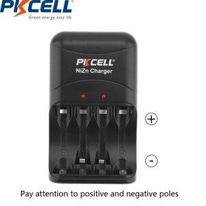 Image 5 - 8 قطعة/2 حزمة PKCELL 1.6 فولت نيزن AA بطاريات قابلة للشحن NI Zn 1.6 فولت 2500mWh AA بطاريات 1 قطعة AA/AAA شاحن بطارية نيزن