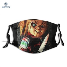 Cloth Fashion Chucky Mouth Face Mask Dust Proof Fast Delivery Adults Facial Mask With Filters