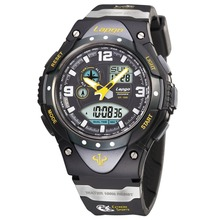 Pasnew Watch Men Military Sports Watches Led Display Analog