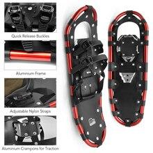 Зимняя обувь для женщин и мужчин; алюминиевая зимняя обувь; Качественная Уличная обувь для альпинизма; зимняя обувь с регулируемыми застежками; Сумка-тоут для переноски