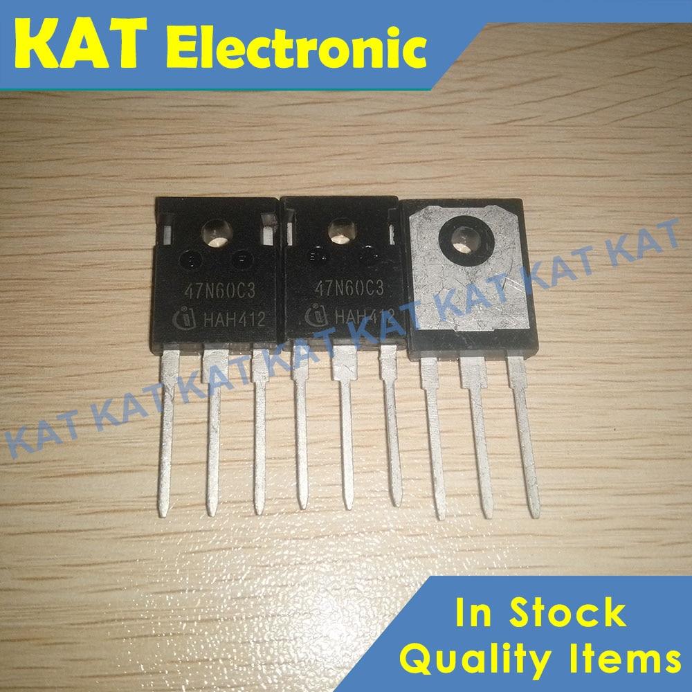 5PCS/Lot 47N60C3 SPW47N60C3 650V 47A TO-247 Cool MOS Power Transistor