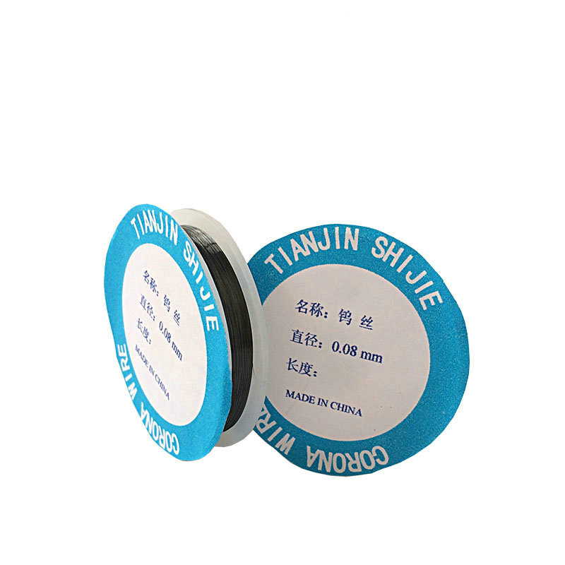 0.08mm Dia Tungsten Electrode Wire, Used For Photocopier Repair, About 18 Meters/roll
