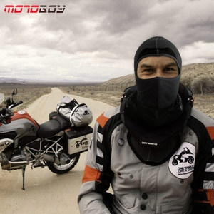 Image 5 - MOTOBOY Balaclava Masker Motorfiets Gezicht Schild Winddicht Fietsen Bike Ski Neck Beschermen Outdoor Moto Volgelaatsmasker