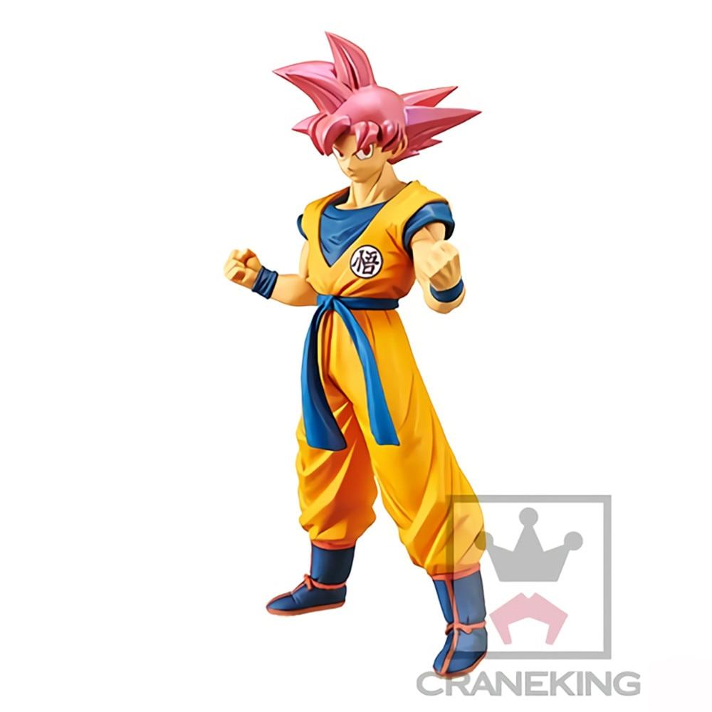 Anime Figures Dragon Ball Z Son Goku Super Saiyan Red Hair Toys SSJ Doll Model Action Figma Gogeta Decor Doll Juguetes Figurals