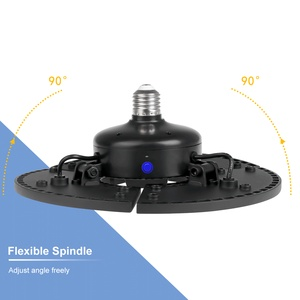 Image 2 - מוסך אור LED הנורה 60W 80W 100W 120W LED מנורת 110V E26 Lampada LED 220V E27 Deformable אור הנורה עבור סדנת תאורה 2835