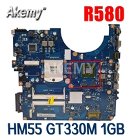 Laptop Motherboard For Samsung R580 Mainboard HM55 GT330M 1GB BA41-01175A BA92-06130A BA92-06133A BA92-06133B