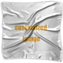 NOISYDESIGNS Individuelles Logo Frauen Quadratischen Kopf Schal Wraps Schals Damen Gedruckt Kopftuch Neck Schöne Schal Schal Mode