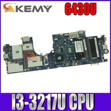 Akemy материнская плата для ноутбука Dell Latitude 6430U основная плата CN-08K51X 08K51X QCZ00 LA-8831P I3-3217U Процессор DDR3