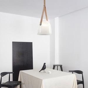 Image 5 - Post moderne Glas Anhänger Lichter Mona Led Gürtel Hängen Lampe Wohnzimmer Küche Leuchten Wohnkultur Suspension Leuchte