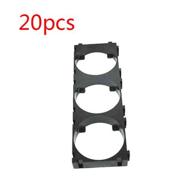 20 pièces 1x3 support de batterie support 32650 cellule entretoise supports pour bricolage 32650 Batteries Pack