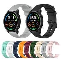Cinturino sportivo in Silicone da 22mm per Xiaomi Mi Watch Color Sports Edition cinturino per cinturino per cinturini di ricambio per orologi Mi Watch