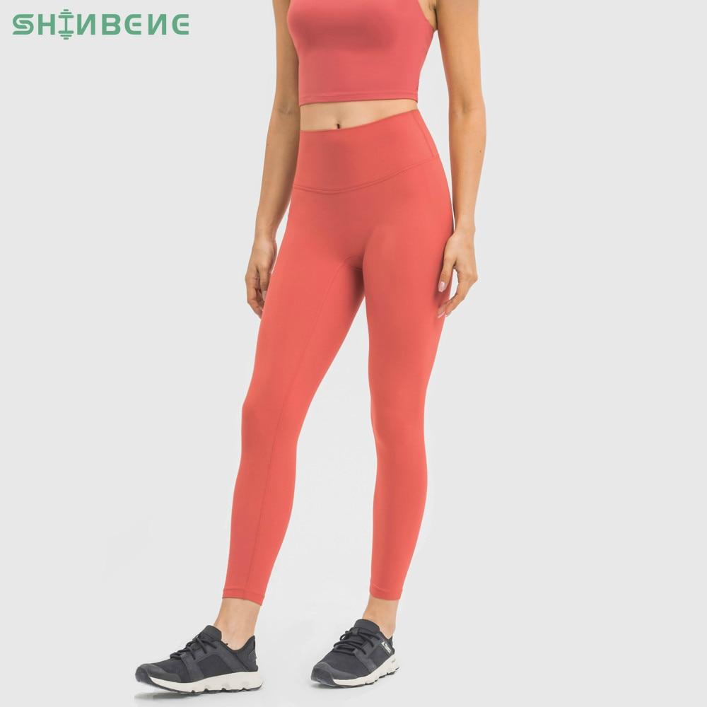 "SHINBENE CLASSIC 3.0 Buttery Soft Bare Workout Gym Yoga Pants Women Squat Proof High Waist Fitness Tights Sport Leggings 25""|Yoga Pants| - AliExpress"