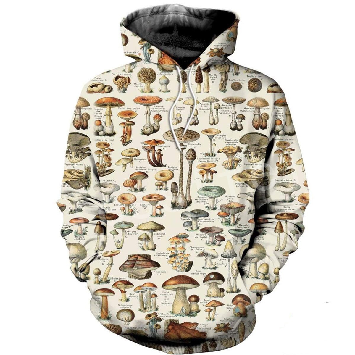 Tessffel Mushroom Colorful Tracksuit Unisex 3DPrint Hoodie/Sweatshirt/Jacket/Mens Womens HIP HOP Cartoon Casual Style-9