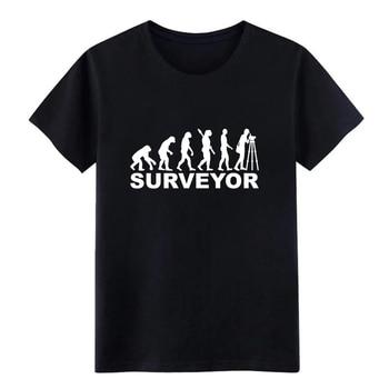 Camiseta de hombre Surveyor personalizada algodón S-XXXL letras Fitness Casual primavera otoño cool shirt