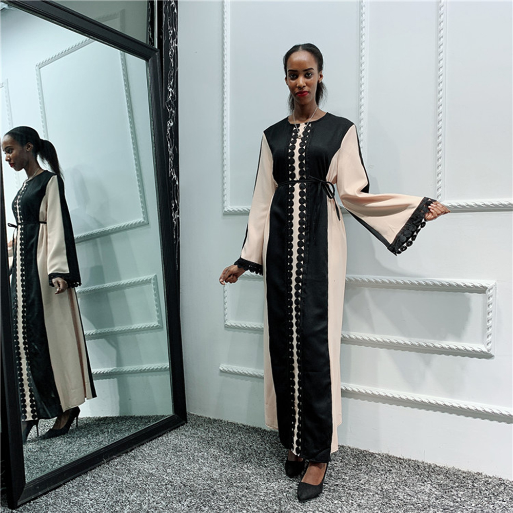 Abaya Kaftan Arabic Pakistani Hijab Muslim Dress Women Caftan Turkey Islamic Dresses Ropa Arabe Mujer Vestidos Qatar Robe Longue