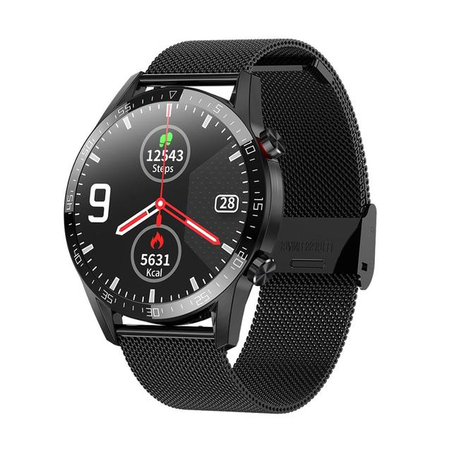 L13 Smart Watch Bluetooth Dail Calling Music Control ECG Fitness Health Tracker IP68 Waterproof Sport Smartwatch for Android IOS