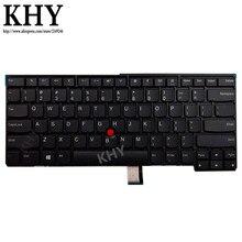 Оригинальная клавиатура США для ThinkPad L440 L450 L460 L470 T440 T440P T440S T450 T450S T460 04Y0824 04Y0854 04Y0862 04Y0892 01EN468
