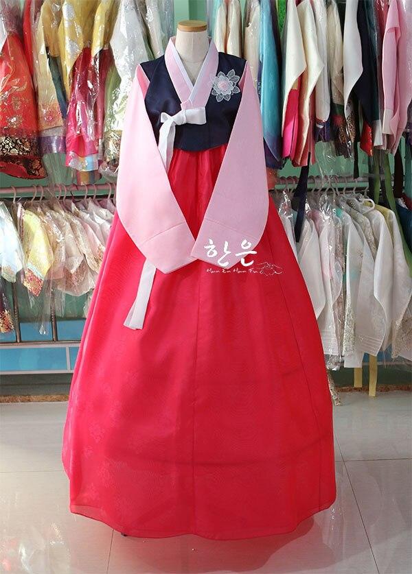 Korea Imported Fabric / Korean Traditional Hanbok / Welcome Dress / Sale Price