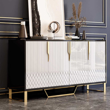 Coffee-Table Cabinet Sideboards Light Storage Post-Modern Living-Room Luxury Porch Nordic