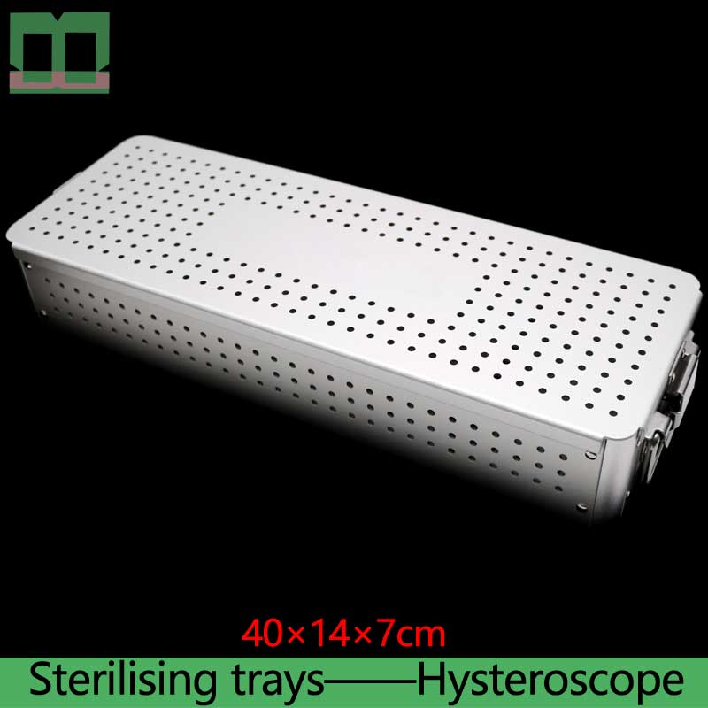 Sterilising Trays Aluminium Alloy Hysteroscope Autoclave Sterilization Surgical Operating Instrument Hysteroscope Sterilizingbox