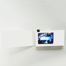 2.4 Inch LCD Video Business Card Best Gift For Sending Love And Blessings During The Festival LEXINGDZ