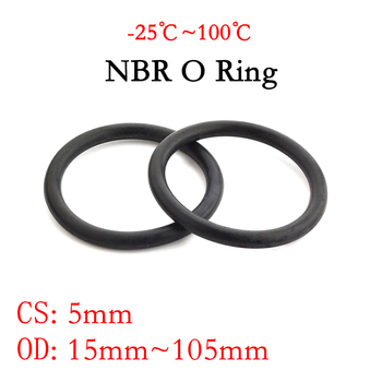 10pcs nbr id 72 74 75 77 78 79 80 82 84 85 87 88 90 92 94 96 97 100 104 4 112 mm x oil seal rubber ring gaskets section 1 5mm 10pcs NBR O Ring Seal Gasket Thickness CS mm OD 15~105mm Nitrile Butadiene Rubber Spacer Oil Resistance Washer Round Shape Black