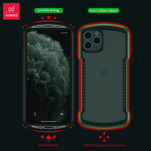 Image 3 - Shockproof Case For iPhone 11 12  Pro Max X 7 XR Case Xundd  Airbag Cover Transparent Protective Case  Screen Protector Glass
