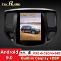Car Audio 10.4 inch car multimedia player android 9.0 car gps navigation 4+64G Tesla screen for Nissan Pathfinder 2013-DSP wifi