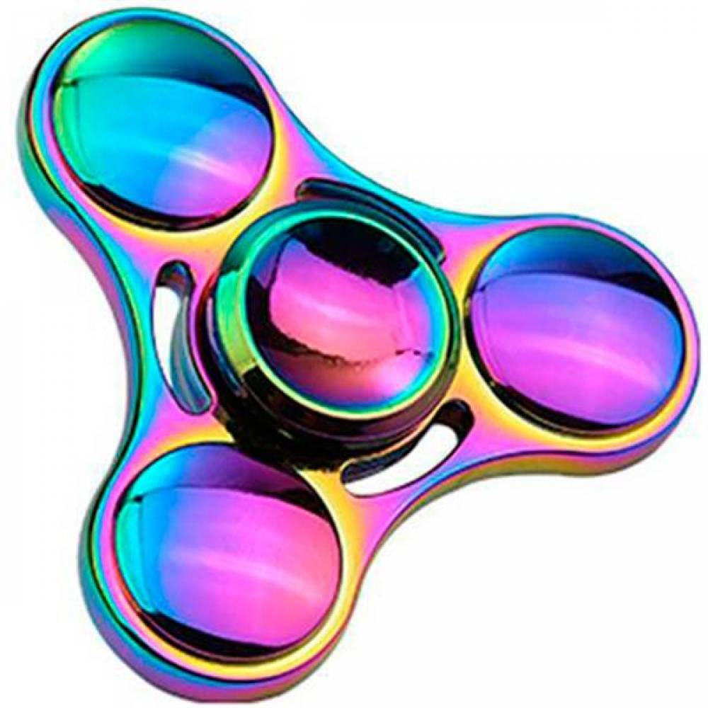 Hand-Spinner Fidget Stress Metal-Bearing Edc Hand-Relieves Zinc-Alloy Milti-Color img3
