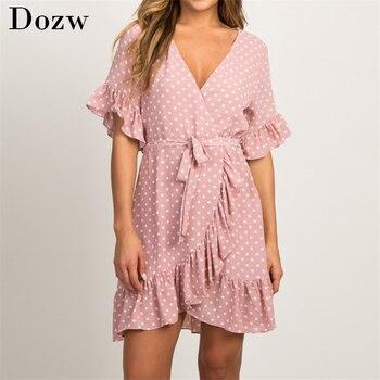 Summer Chiffon Dress Boho Style 1