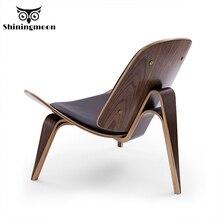 Art créatif moderne Shell avion chaise nordique salle à manger chaises Restaurant café unique canapé chaise meubles chaise