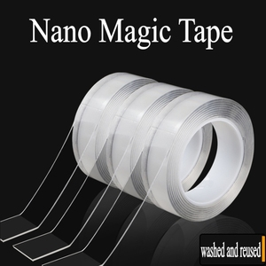 Magic Nano Tape Transparent Double-Sided Can Washed Gel Non-slip Strong Sticky Universal Improvement Paste Removable Traceless(China)