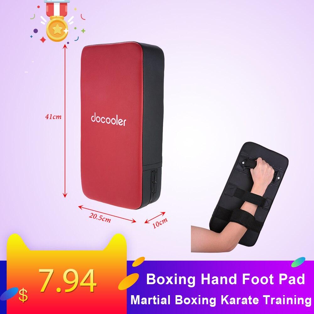 Docooler Boxing Kicking Strike Hand Foot Pad Kick Pad Foot Target Pad Strike Shield For Punching Boxing Karate Training