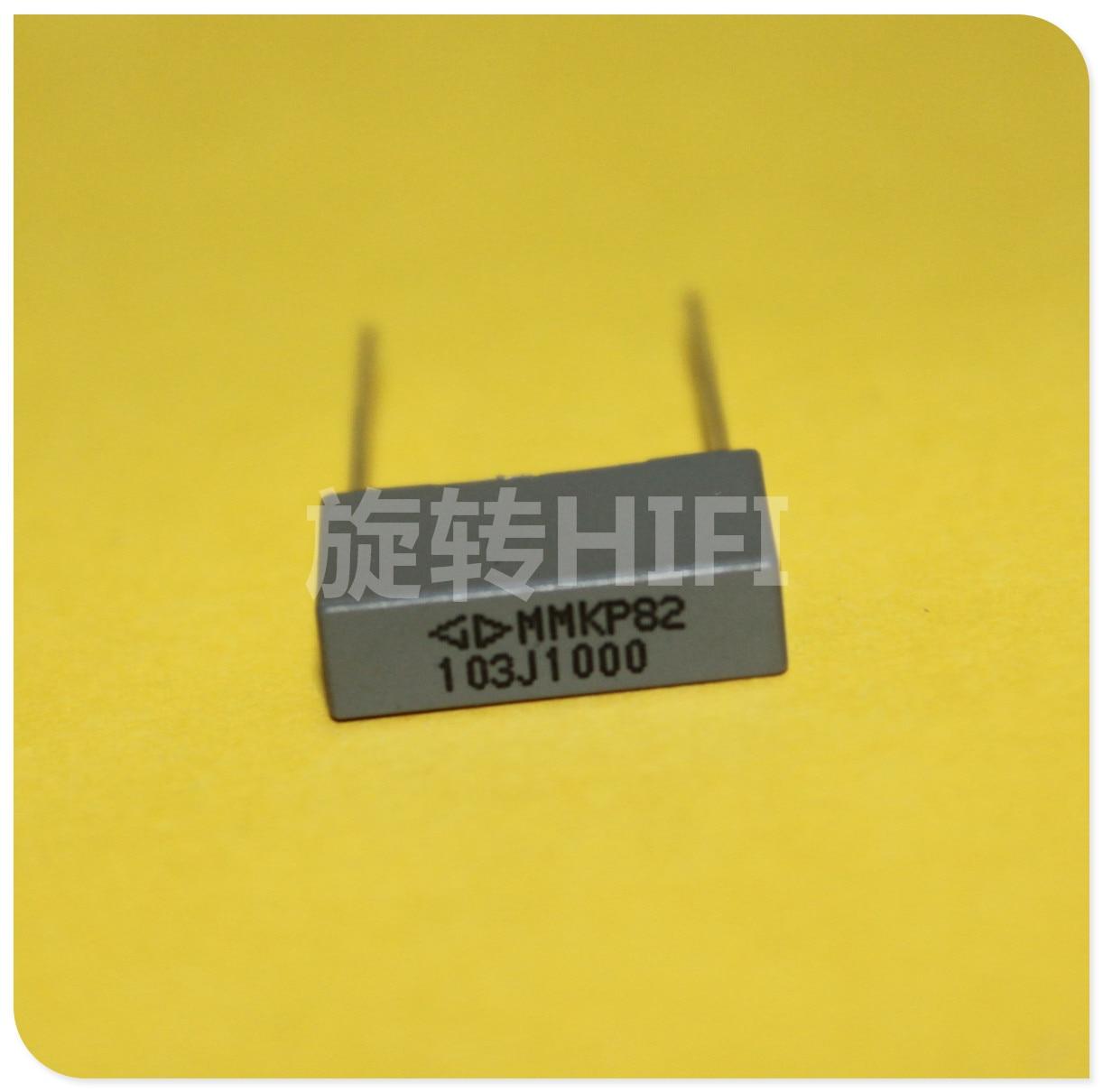 10pcs Xiamen Faratronic MMKP82 0.01UF 1000V 10NF P15MM FARA MMKP Gray Film Capacitor 103/1000V 103 1KV 0.01uF/1KV
