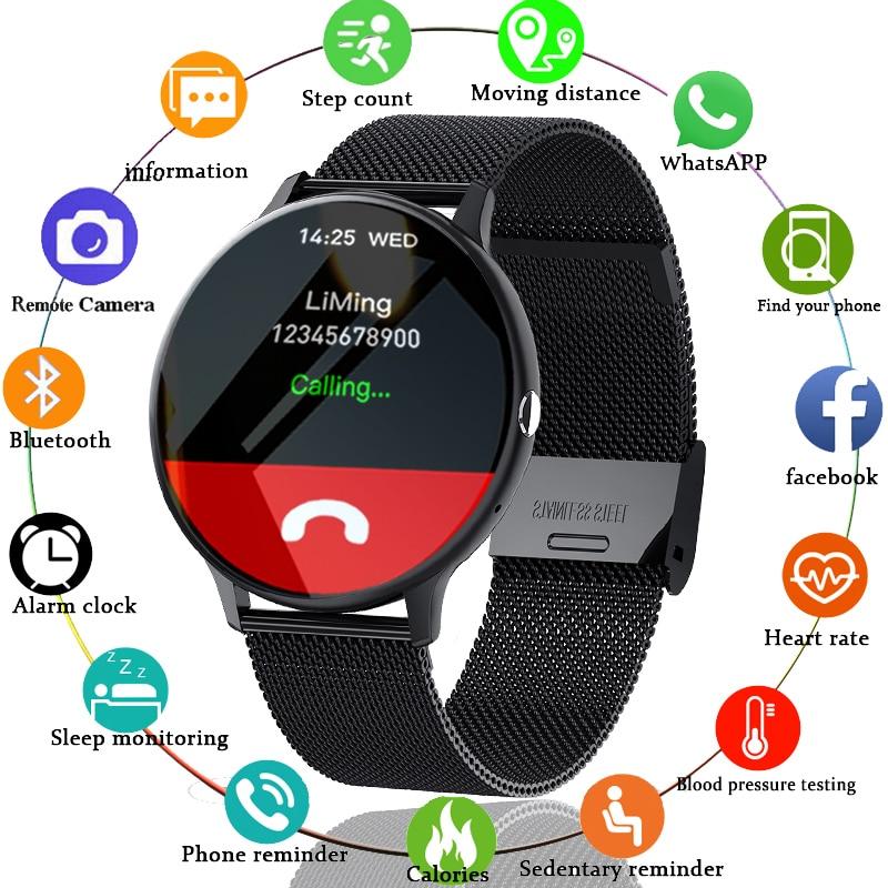 LIGE 2021 New Bluetooth call smart watch men women Sport mode Heart rate and blood pressure Innrech Market.com