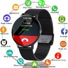 LIGE 2021 جديد بلوتوث دعوة ساعة ذكية الرجال النساء الرياضة وضع معدل ضربات القلب و ضغط الدم رصد النشاط المقتفي Smartwatch